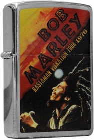 Bob Marley Rastaman Vibration Tour Zippo Lighter