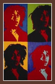 Bob Marley Silhouettes Tapestry