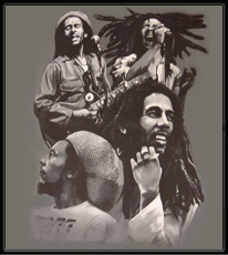 "Bob Marley ""The Many Faces of Bob"" T-Shirt"