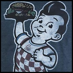 Bob's Big Boy Mens T shirt