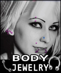 Body Jewelry - Navel Body Jewelry - Tongue Barbells