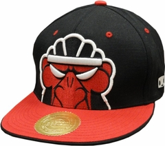 Booton Angry Face Snapback Hat