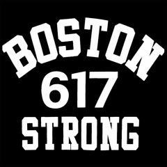Boston 617 Strong Men's T-Shirt