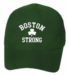 Boston Strong Irish Shamrock Baseball Hat