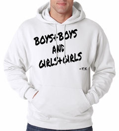 Boys + Boys And Girls + Girls Adult Hoodie