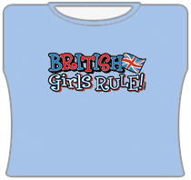 British Girls Rule Girls T-Shirt