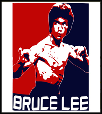 Bruce Lee Americana T-Shirt (White)