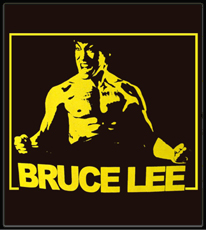 "Bruce Lee ""Rage"" T-Shirt (Brown)"