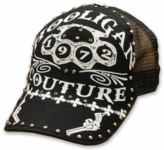 "Bulzeye ""Hooligan Brass Knuckles"" Trucker Hat"