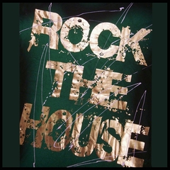 "Bulzeye Revolution ""Rock The House"" Couture T-Shirt (Green)"