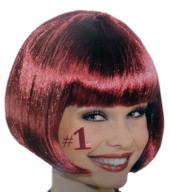 Burgandy Colored Wigs - Burgundy Wig