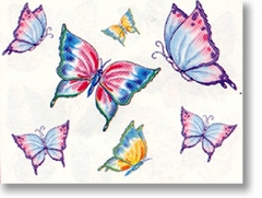 Butterflies 1 Temporary Tattoos