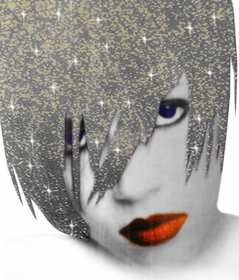 Bwild Hair & Body Glitter Spray (Silver & Gold Mix)