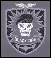 "Call of Duty Black Ops ""Vintage Emblem"" T-Shirt"