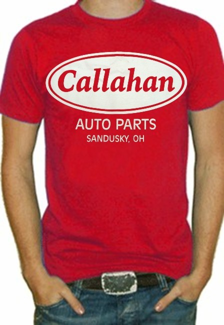 Callahan Auto Parts T Shirt From The Chris Farley Movie