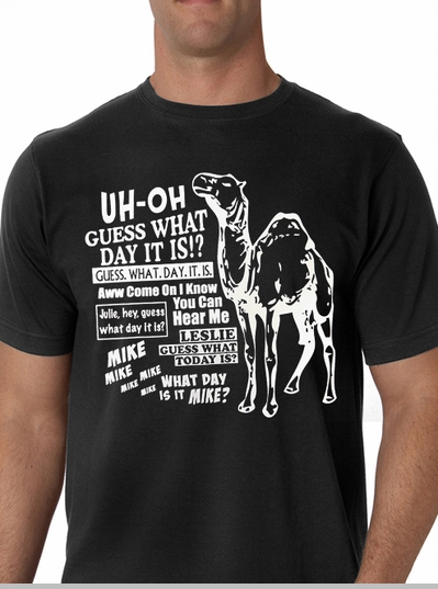 Camel Hump Day T-Shirt (Mens)<!-- Click to Enlarge-->