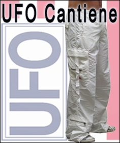 Cantiene Slim Fit UFO Pants