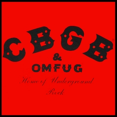 CBGB & OMFUG Vintage Men's T-Shirt  (Red)