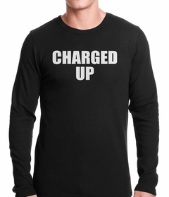 Charged Up Hip Hop Meek Diss Thermal Shirt