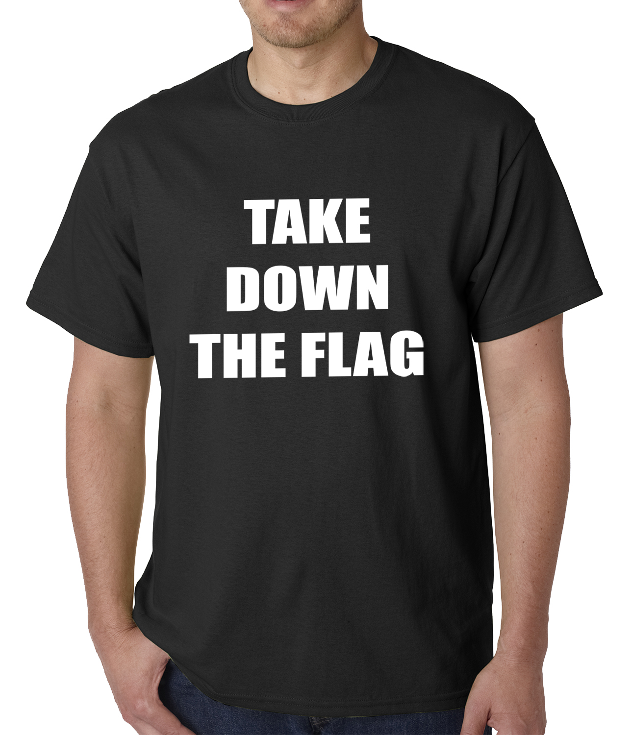 Charleston south carolina take down the flag protest mens for T shirt printing charleston sc