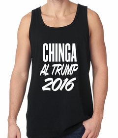 Chinga Al Trump Tank Top