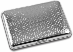 Chrome Mosaic Cigarette Case (For Regular Size Only)
