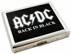 Cigarette Case - AC/DC Cigarette Case (For Regular Size Cigarettes)