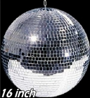 "Club Size 16"" Mirror Disco Ball"