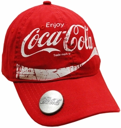 "Coca Cola Coke ""Classic"" Bottle Opener Hat"