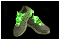 Colored LED Light Up Shoe Laces