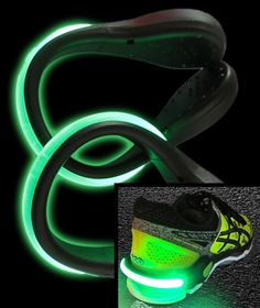 Colored LED Light Up Shoe Spurs