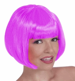 Colored Wigs - Fuchsia Colored Wig