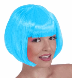 Colored Wigs - Light blue Colored Wig