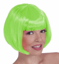 Colored Wigs - Light Green Wig