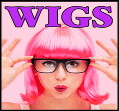 Colored Wigs :  Wear A Colored Hair Wig to Change Your Hair Color