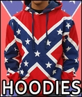 Confederate Flag Items -  Hoodies & Sweatshirts