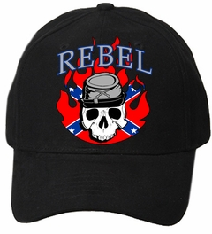 Confederate Flag Rebel Soldier Baseball Hat
