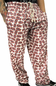 Confederate Rebel Flag Lounge Pants