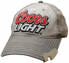 Coors Light Vintage Bottle Opener Adjustable Baseball Hat
