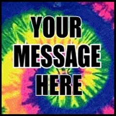 Personalized Custom T-shirts - Custom Saying Bright Spiral Tye Dye T-Shirt