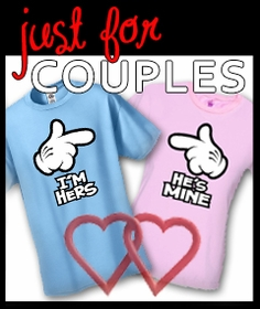 Cute & Funny T-shirts, Just for Couples