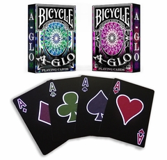 Deck of Ultra-Violet Glowing Playing Cards (Assorted Color)