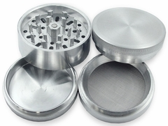 Herb Grinders - Deluxe Aluminum 3 Chamber Herb Grinder