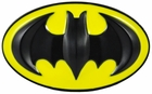 Deluxe Classic Batman Belt Buckle with FREE Belt (Yellow/Black)
