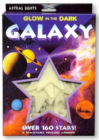 Deluxe Glow in the Dark Galaxy of Stars (160 Stars)
