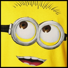 Despicable Me Minion Mens T-shirt (Yellow)