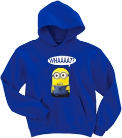Despicable Me Whaaaa?!?! Hoodie (Blue)