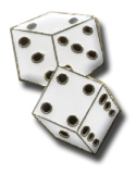 Dice Lapel Pin