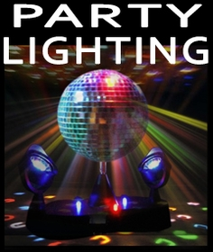 Disco Balls - Mirror Disco Balls, Blacklights and Party Lighting
