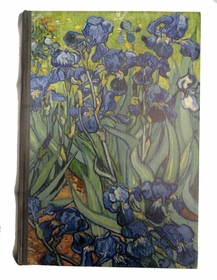 Diversion Safe - Van Gogh Iris Painting Book Safe (Small)